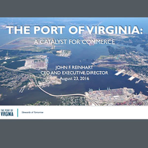 Port of Virginia presentation